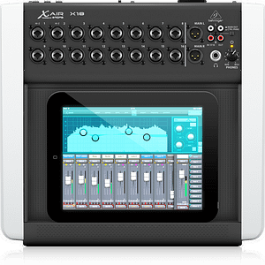 BEHRINGER X18 DIGITAL IPAD/TABLET MIXER